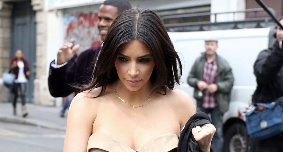 Kim Kardashian nació el 21 de octubre de 1980. (AFP)