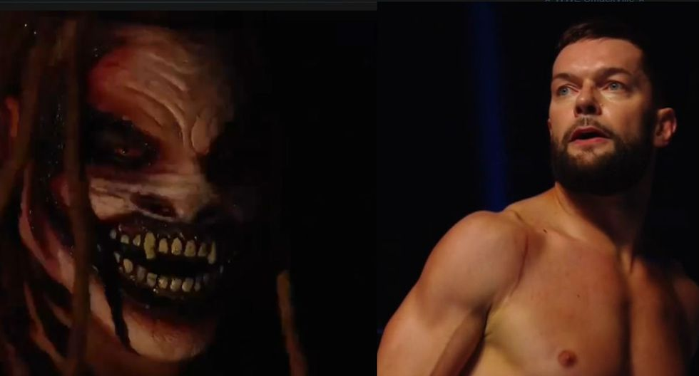 Bray Wyatt y Finn Bálor se enfrentarán en WWE SummerSlam. (Captura TV)