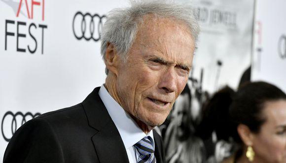 Clint Eastwood cumplió 90 años. (Foto: AFP)