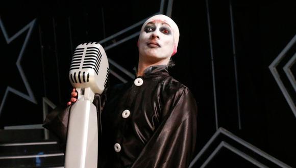 Mike Bravo, 'Marilyn Manson' fue el ganador de esta temporada de Yo Soy. (Difusión)