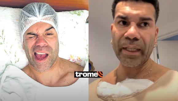 Carlos 'Tomate' Barraza fue operado de emergencia