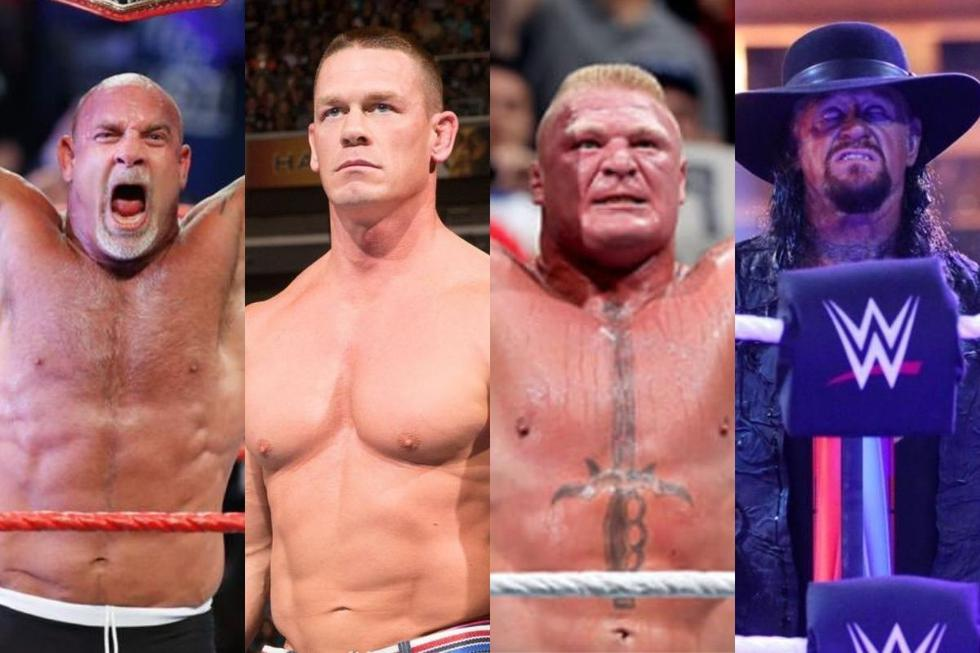 Goldberg, John Cena, Brock Lesnar y Undertaker no estará en WrestleMania. (WWE)