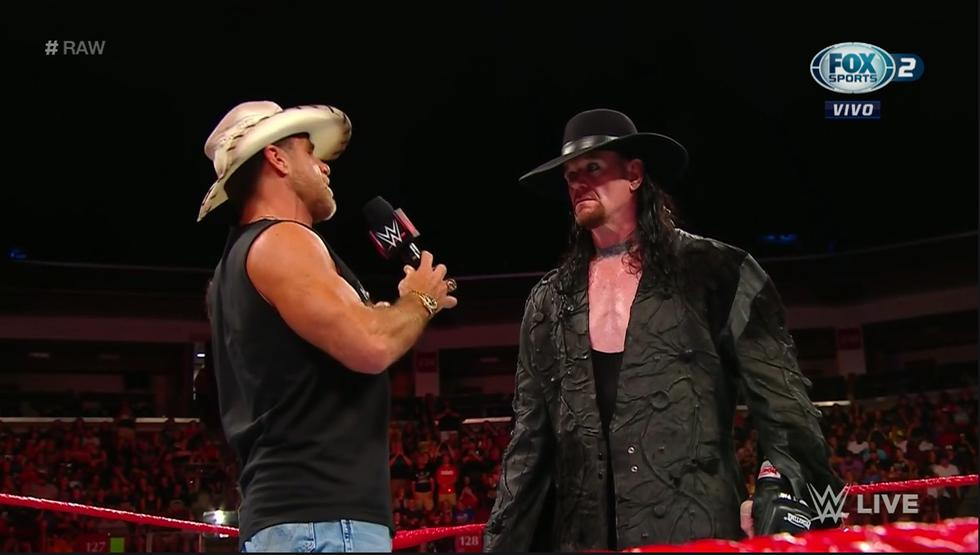 The Undertaker emocionó a sus fans (WWE)