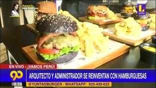 Yunta Burger: Arquitecto y administrador se reinventan ofreciendo deliciosas hamburguesas artesanales