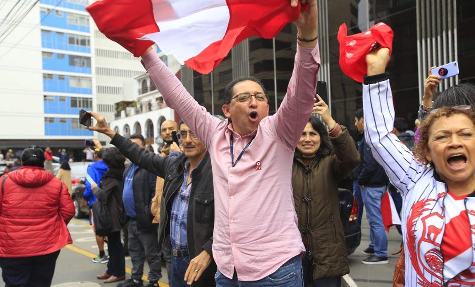 Los participantes mostraron su respaldo a nuestros compatriotas que participarán en Lima 2019. (Foto: Jessica Vicente)
