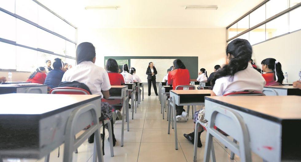 Personal docente o administrativo implicados en diversos delitos podrán ser separados en solo 48 horas por la autoridad educativa. (Foto: Referencial/GEC)