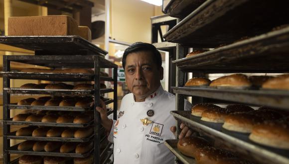 Pío Pantoja, presidente de la Asociación Peruana de Empresarios de la Panadería y Pastelería (ASPAN).