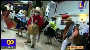 Restaurant celebra las fiestas patrias a ritmo del folklore cajamarquino