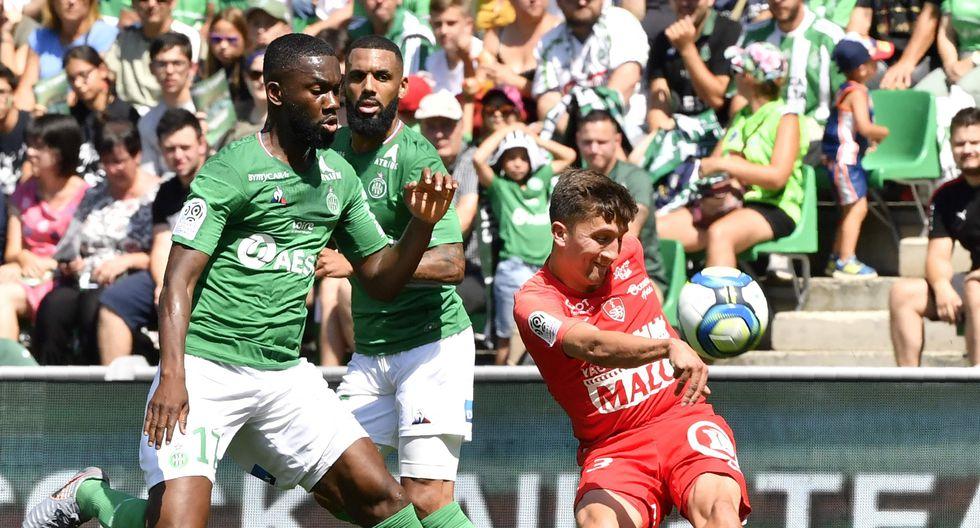 Saint Etienne vs Brest EN VIVO se enfrentan por la fecha 2 de la Liga de Francia