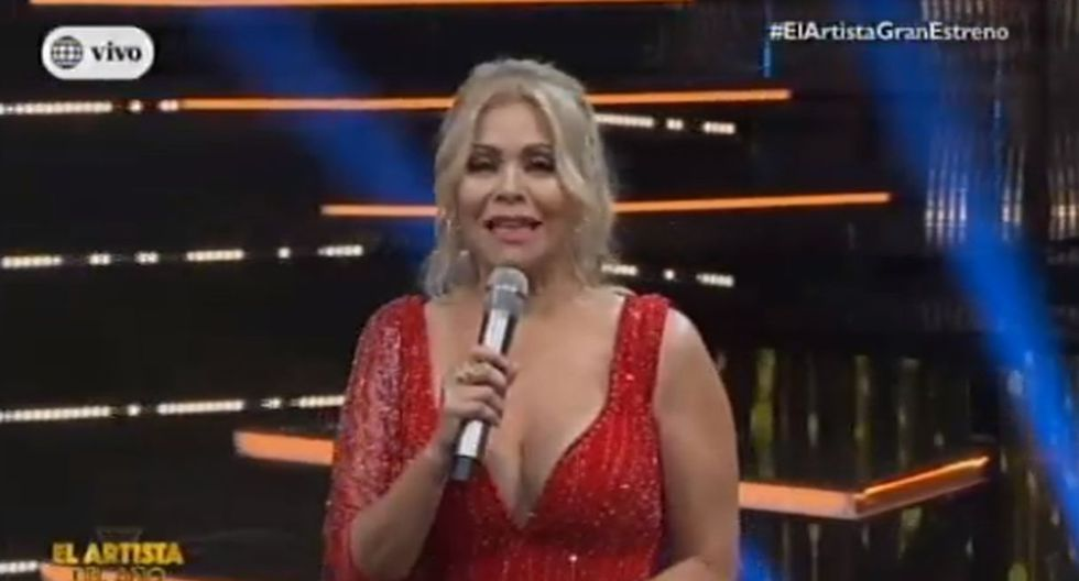 Adolfo Aguilar regresó a la TV como jurado de 'El artista del año' con Gisela Valcárcel