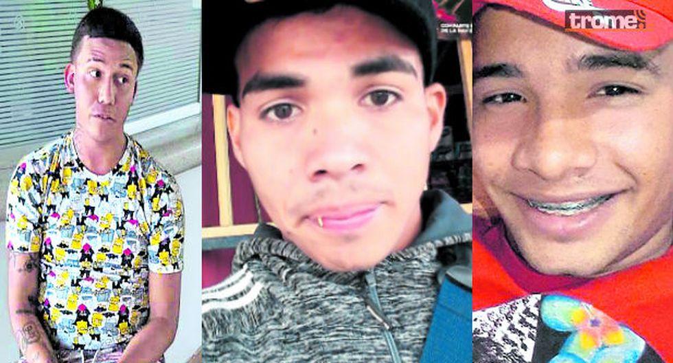 Freddy Romero Sulbarán, 'Machelo' (Izquierda)/ Víctimas Rubén Matamoros y Jafet Torricos. (Fotos: GEC)