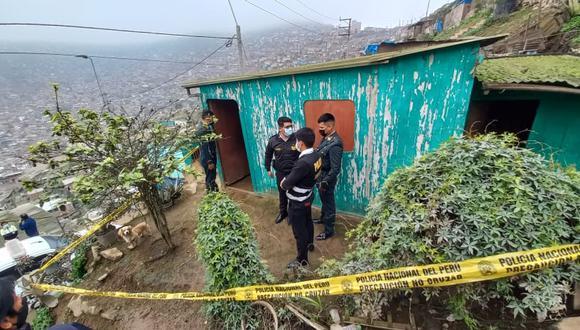 La madre de familia Feliciana Huamán Salas (42) fue asesinada a manos de su esposo y enterrada debajo de su cama en su vivienda.