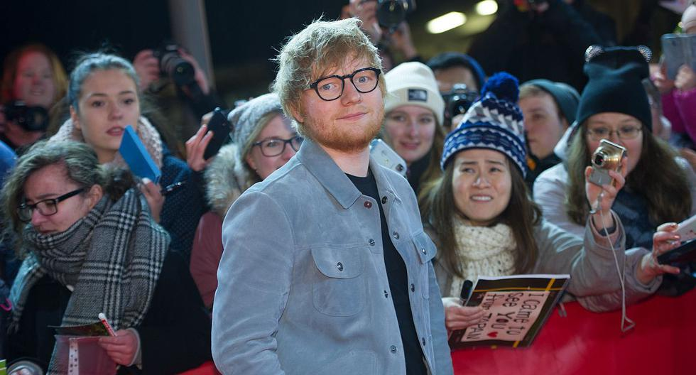 """Ed Sheeran anuncia la fecha de lanzamiento de su nuevo sencillo """"Beautiful People"""". (Foto: AFP)"""
