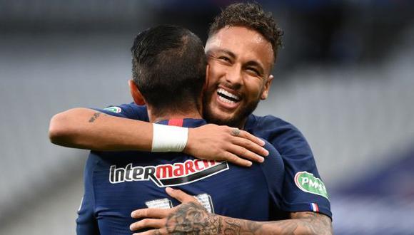 Neymar y compañía le dijeron adiós al coronavirus y está aptos para reaparecer en PSG. (Foto: AFP)
