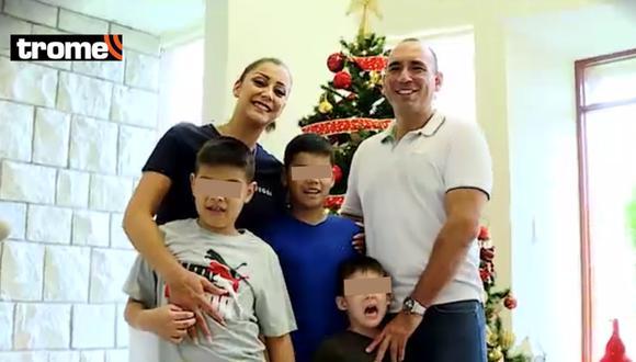 Karla Tarazona muestra cómo pasará la Navidad con su flamante esposo y sus tres hijos en su nueva casa