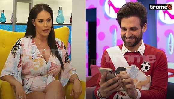 "Karen Schwarz reafirma su 'amenaza' a Rodrigo González en TV: ""Voy a hacer que respetes a mi familia"""