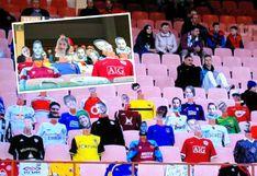 Coronavirus: Equipo de Diego Maradona en Bielorrusia completa tribunas con muñecos de cartón | VIDEO | FOTOS
