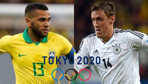 Tokio 2021 empieza con la fiesta del fútbol con el Brasil vs Alemania como partidazo. (Foto: Composición