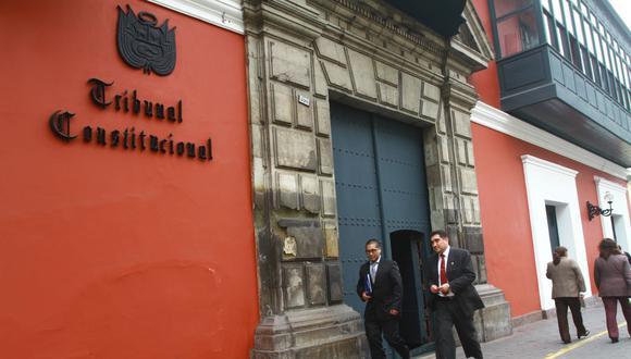 Tribunal Constitucional. (Foto: GEC)