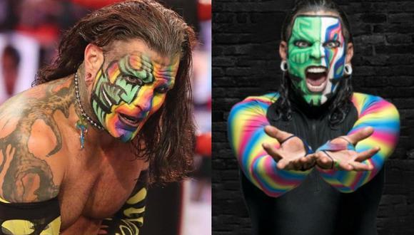 Jeff Hardy continúa perdiendo en Monday Night RAW. (WWE)