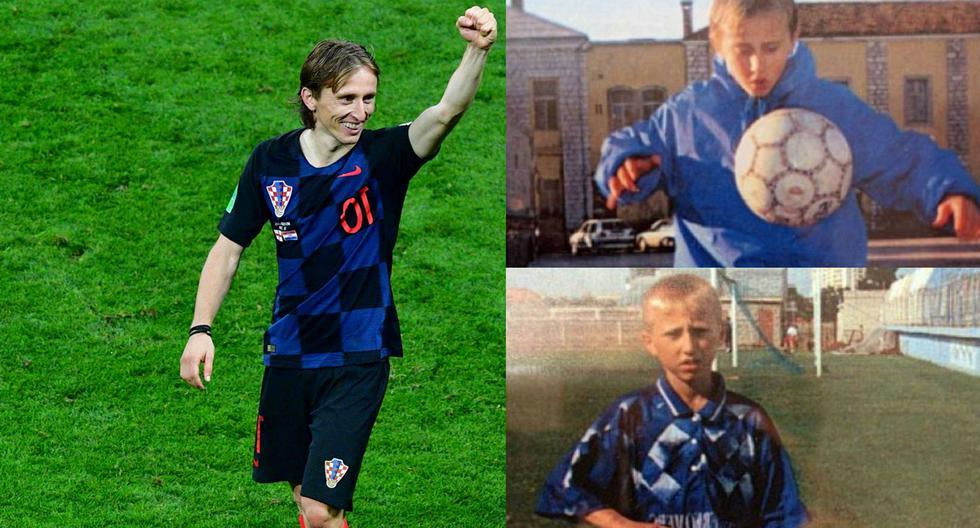 Luka Modric una historia de superación en medio de la guerra que termina con una final en Rusia 2018