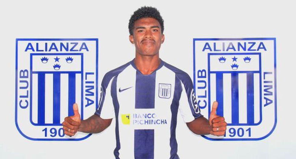 Oslimg Mora extendió su vínculo con Alianza Lima por tres años. (Foto: Alianza Lima)