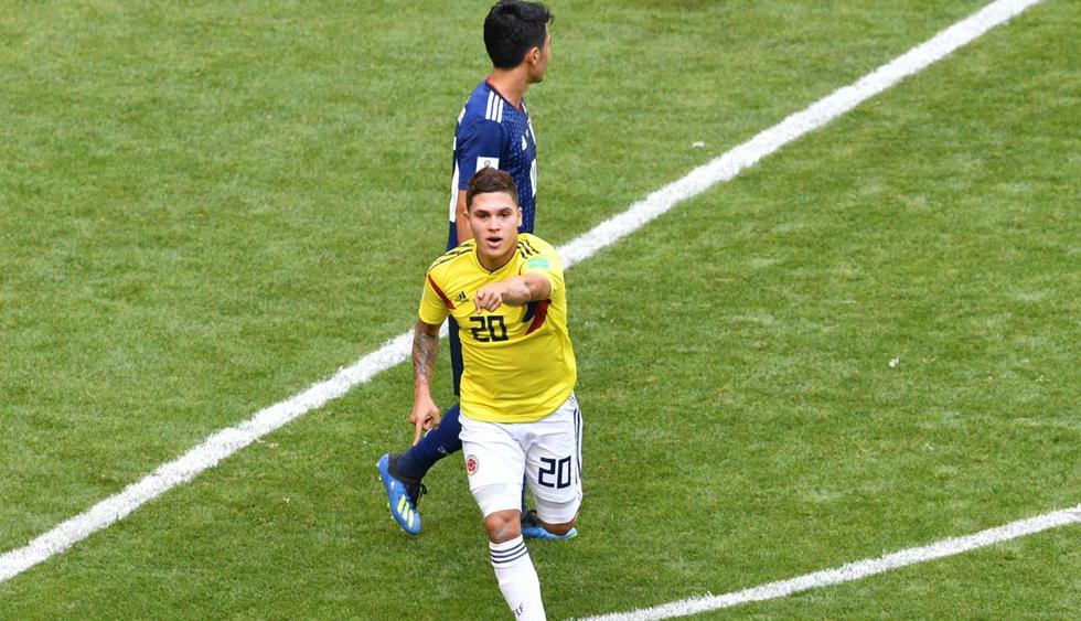 Colombia vs Japón por el Grupo H del Mundial Rusia 2018