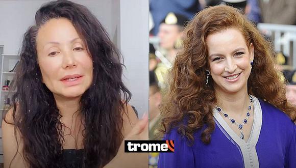 Janet Barboza fue confundida con la princesa de Marruecos en un viaje, cuenta su hija