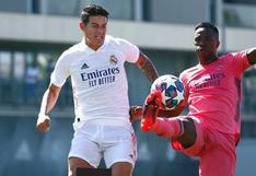 Real Madrid: James Rodríguez sorprende en práctica tras encuentro con Florentino Pérez | VIDEO