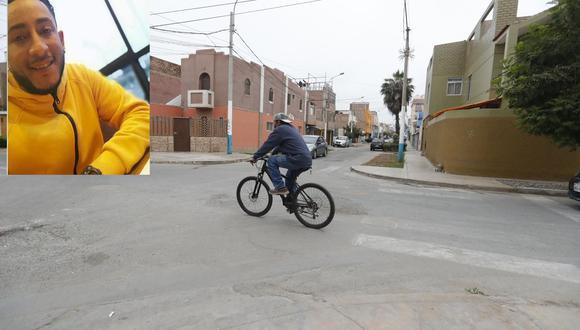 Homicidio ocurrió en el cruce de los jirones Tacna y Túpac Amaru, en La Perla. | Foto: Joseph Ángeles