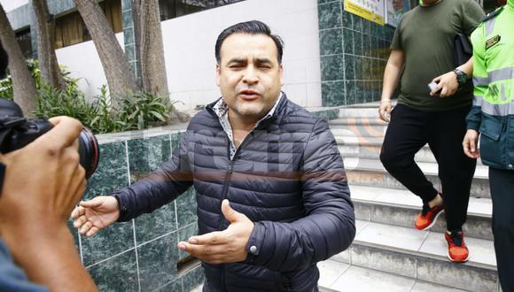 Juan Carlos Orderique dio positivo en prueba de dosaje etílico.