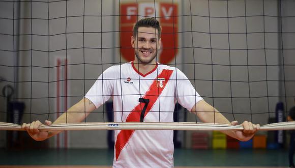 Eduardo Romay, capitán de la selección peruana de vóley masculino. (GEC)