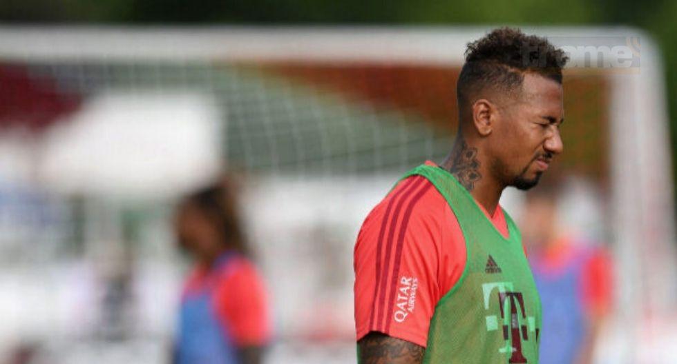 Jerome Boateng  multado por  romper cuarentena en Bayern Munich