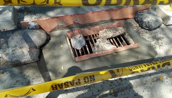 Huánuco: Reponen tapas de buzones que fueron robadas y otras deterioradas (Foto: Municipalidad de Huánuco)
