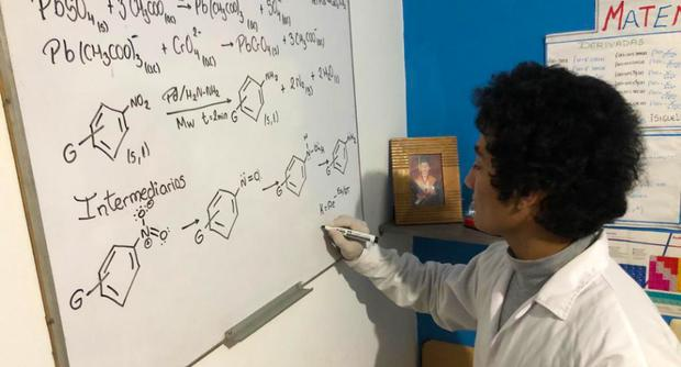 Joven desarrolla proyecto para desarrollar una proteína contra las heladas