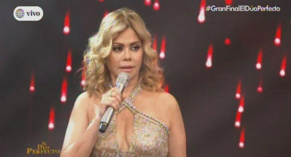 Gisela Valcárcel interrumpió presentación de Daniela Darcourt y Pedro Loli por falla técnica