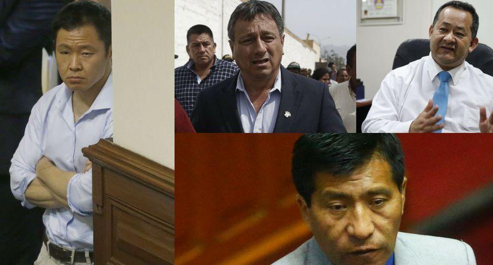 Kenji Fujimori, Bienvenido Ramírez y Guillermo Bocángel tiemblan por 'kenjivideos'