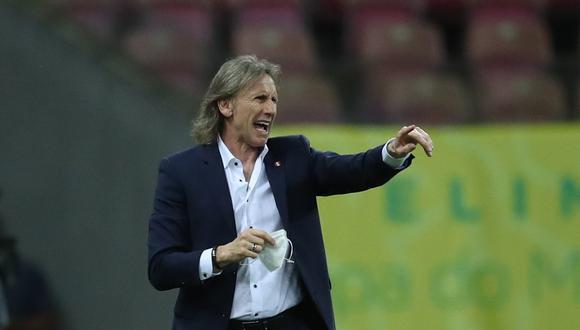 El técnico Ricardo Gareca tiene claro que se juega una jornada clave para la selección peruana en su objetivo para clasificar al mundial de Qatar 2022. (Foto: REUTERS/Ricardo Moraes)