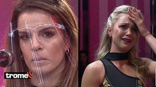 Alejandra Baigorria y Ducelia Echevarría protagonizan tremenda discusión detrás de cámaras