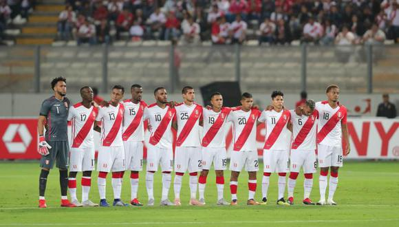 La posición se determinó después del último ránking FIFA, donde Perú quedó en el puesto 20. (Foto: EFE)