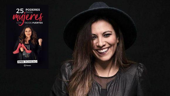 Se encuentra promocionando su primer libro: '25 poderes para mujeres con tacos fuertes'. (Foto: Difusión)