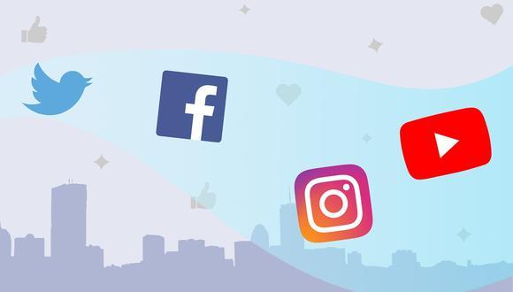 Twitter, Facebook, Instagram y Youtube. (Imagen: Pixabay)