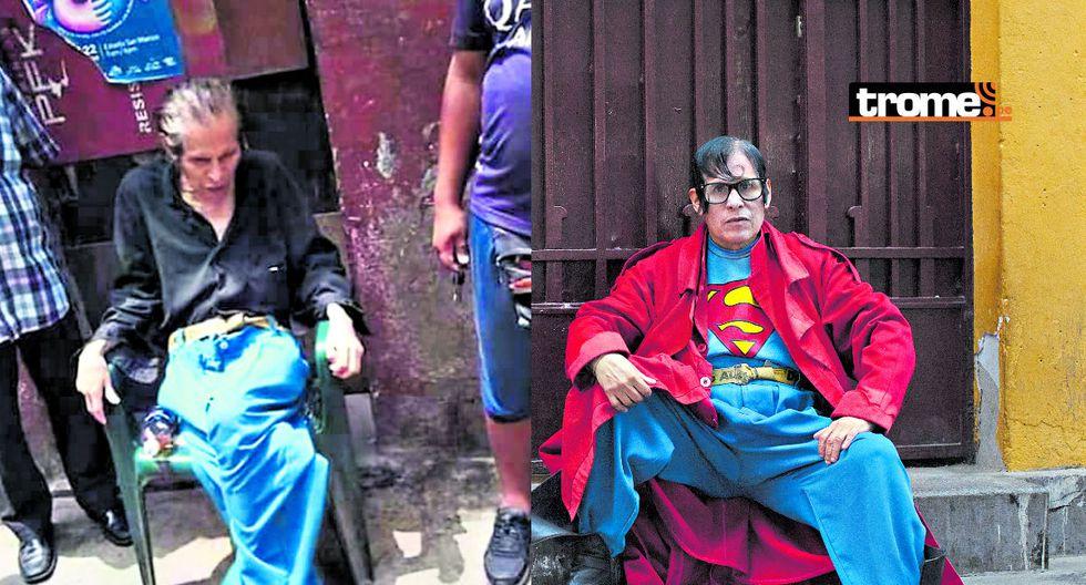 'El Superman Cholo' pasa por un terrible momento. (GEC)