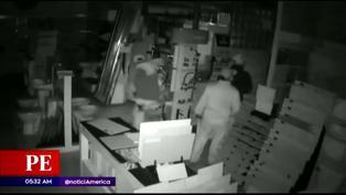San Martín de Porres: Ladrones ingresan a tienda de mayólicas y se llevan más de 10 mil soles