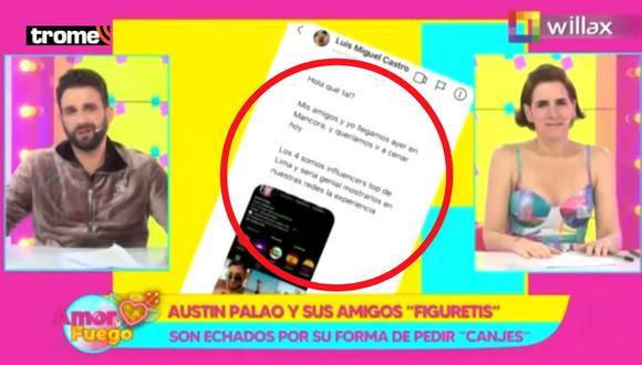 'Peluchín' y Gigi arremeten contra influencers que piden canje en restaurantes: