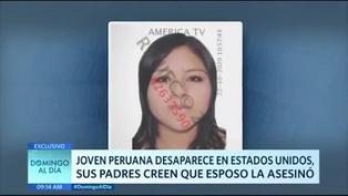 Peruana desaparece en Estados Unidos