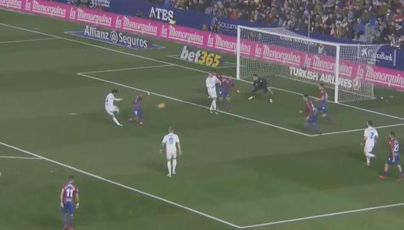 Gol de Isco a Levante