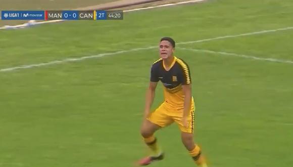 Gol de Yuriel Celi en Cantolao vs Mannucci por Liga 1
