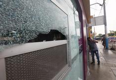 Callao: A pedradas asaltan 'Tambo' y licorería de la avenida Los Dominicos
