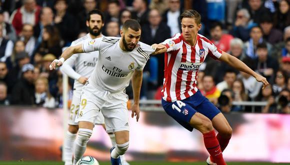 Golazo de Benzema en el derbi: Terrible y precisa definición en Real Madrid vs Atlético Madrid por LaLiga Video